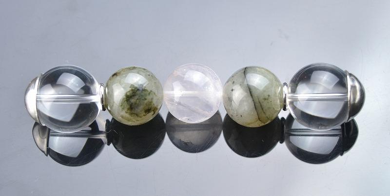 R1902011 グリーントルマネイテッドルチルクォーツ・水晶・オーラクォーツ